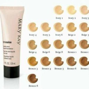 Mary Kay TimeWise Matte-Wear Foundation, Ivory 7